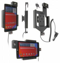 Support voiture  Brodit LG G Pad 7.0  antivol - Support actif avec cig-plug et pivotant. 2 clefs. Réf 535708