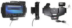 Support voiture  Brodit Motorola ET1  antivol - Support actif pour une installation fixe. Conception mince avec chargeur intégré dans le support. 2 clefs. Convient unité à la fois avec et sans dragonne. Réf 532407