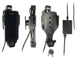 Support voiture  Brodit Samsung Galaxy S i9000  antivol - Support actif pour une installation fixe. Avec rotule. 2 clés inclus Réf 536167