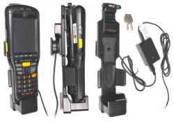Support voiture  Brodit Motorola MC9500  antivol - Support actif avec rotule, pour une installation fixe, avec système de connecteur Molex. Chargeur 2A. 2 clefs. Réf 536553