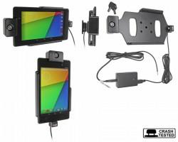 Support voiture  Brodit Asus Google Nexus 7 (2013)  antivol - Support actif pour une installation fixe, avec rotule. 2 clefs. Réf 536560