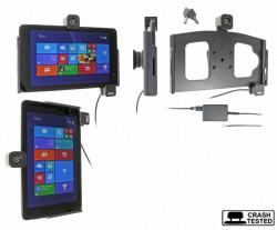 Support voiture  Brodit Dell Venue 8 Pro  antivol - Support actif pour une installation fixe, avec rotule. 2 clefs. Réf 536579