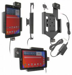 Support voiture  Brodit LG G Pad 7.0  antivol - Support actif pour une installation fixe, avec rotule. 2 clefs. Réf 536708