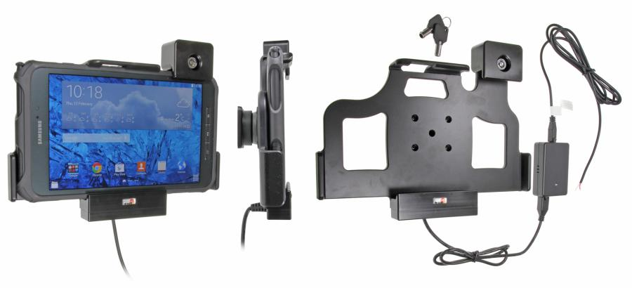 support voiture samsung galaxy tab active 8 0 sm t365 antivol t l phones tablettes gps. Black Bedroom Furniture Sets. Home Design Ideas