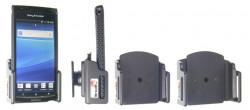 Support réglable. Convient appareils avec et sans étui de dimensions: Larg: 62-77 mm, épaiss.: 6-10 mm. Réf 511307